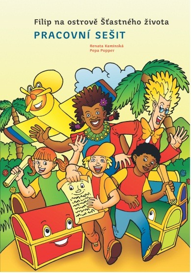 Obálka knihy - Filip na ostrově Šťastného života - pracovní sešit | Advent-Orion