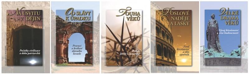 Obálka knihy - Sleva - balíček pěti knih | Advent-Orion
