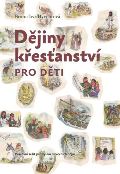 Obálka knihy - Dějiny křesťanství pro děti - pracovní sešit | Advent-Orion