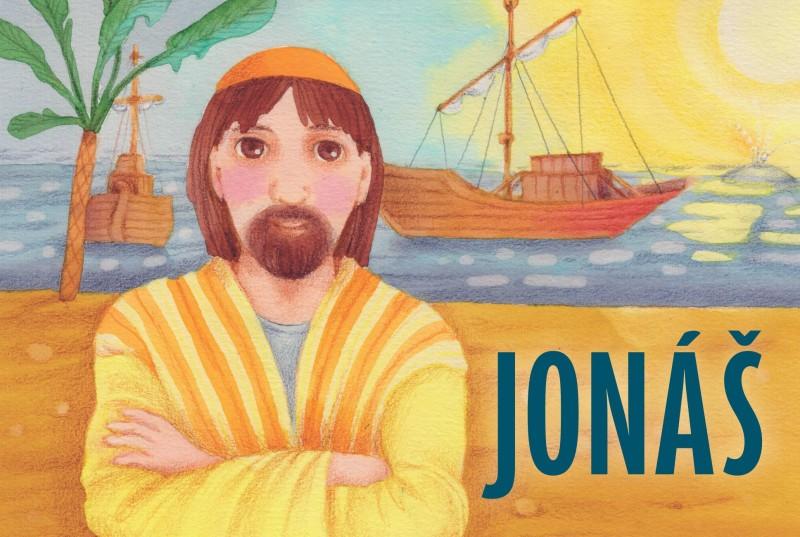 obálka ke knize: Jonáš
