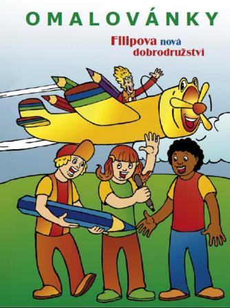 Obálka knihy Filipova nová dobrodružství - omalovánky